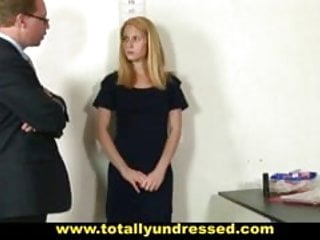 Nude teens bdsm Embarassing nude job interview for 19 y.o. blonde svetlana