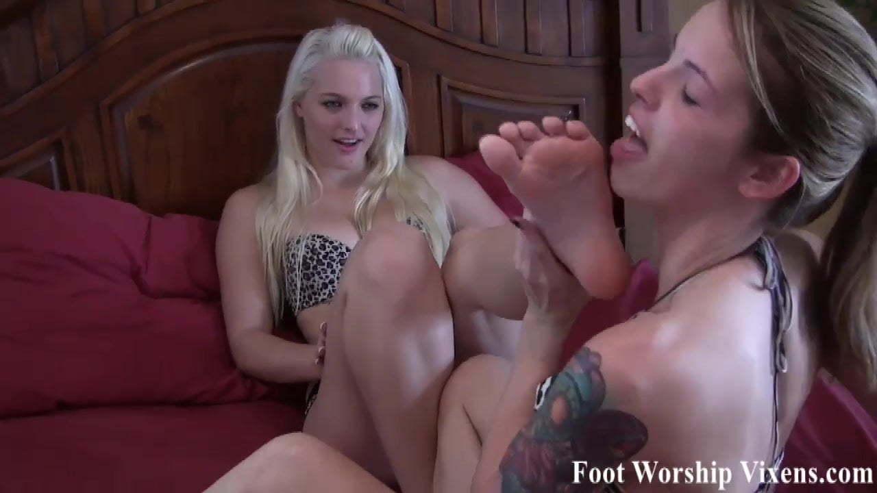 Ebony Milf Feet Worship