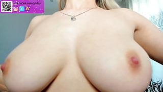 Lexsa teases with her cute nipples and perky tits
