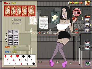 Cartoon porn vidoes stripping Strip poker slut