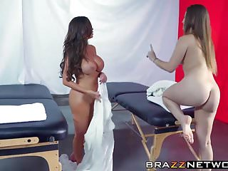 Oriental spa sex - Nikki benz and dani daniels get the special spa treatment