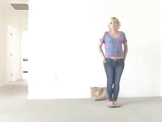 Big penis calendar - Nervous blonde inseminated at her calendar audition