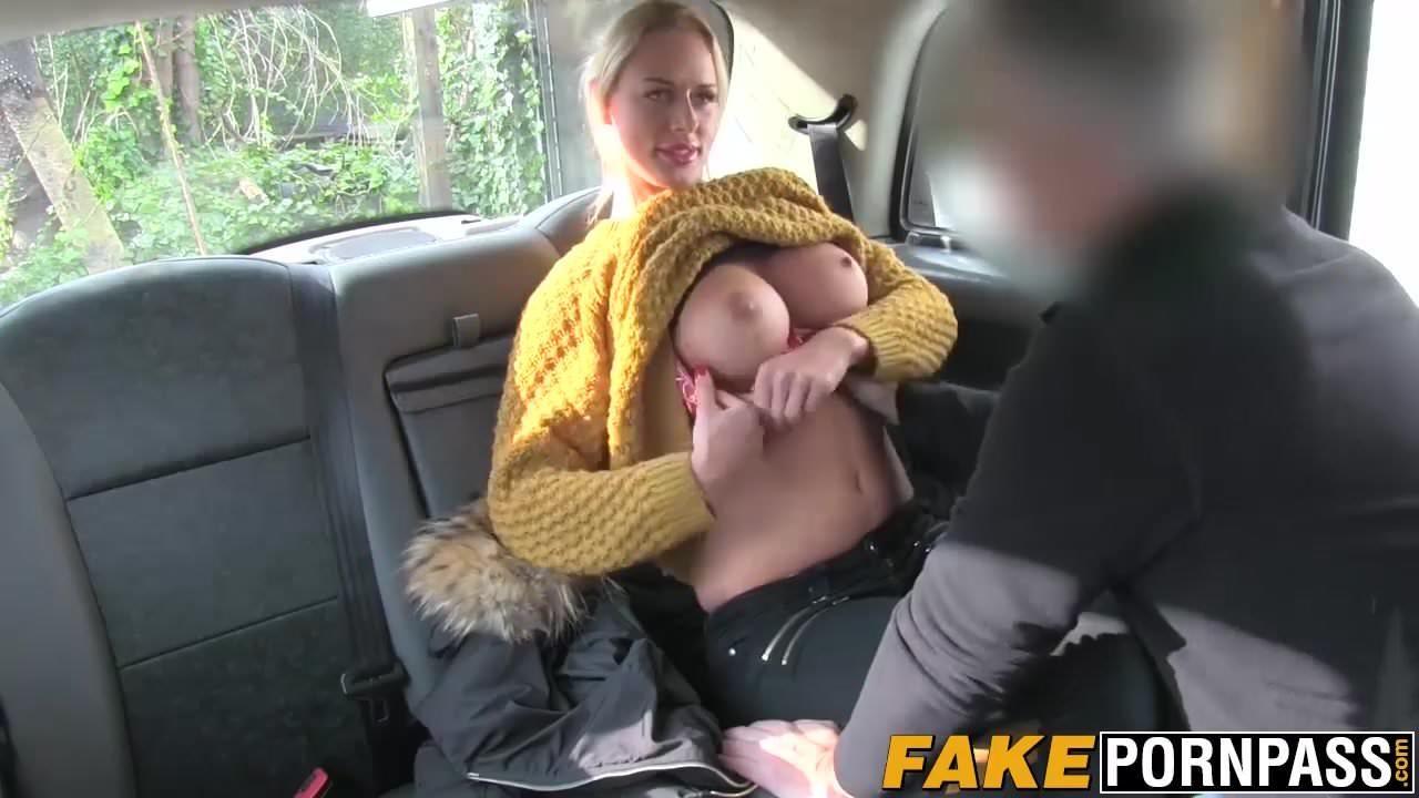 Blonde British Milf Fake Taxi