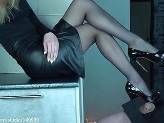 Limp body fetish video Limp little dick crush by high heels