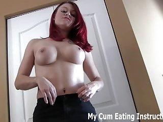 Slut load big cocks jerking off Jerk off twice and eat both loads of cum cei