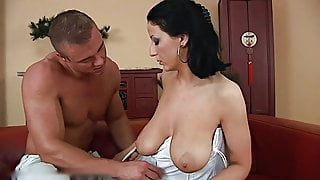 Milf with her boy toys 26