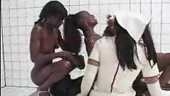 (ballin)-4 black nurses 1 white patient
