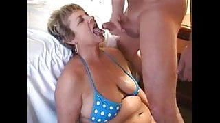 Cougars cum in mouth compilation