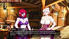 Rise of the White Flower - First date with lewd friend (21)