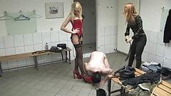 Shoe Sniffer Gets Punished