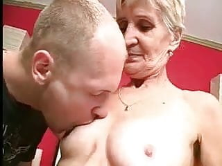 Celebrity sexy teeth contact - Granny takes her teeth out for a better suck