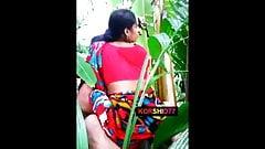 Bangladeshi  village aunty Fucking in jungle