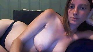 Webcam girl looking good