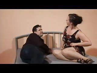 Hausfrau in pantyhose - German mom is a fine hausfrau
