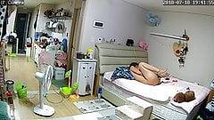 0013-03. Asian girls masturbation