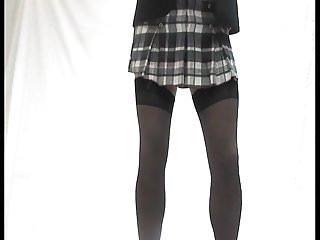 Prom dresses long ruffled bottom - Red ruffle knickers stockings