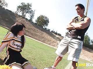 Cheerleading coach nude Coach takes care of amazing cheerleader ashlyn rae