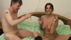 Dutch MILF Teaches Shy Dude Sex