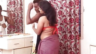 Desi Hot Aunty Sharing Her Uncontrolled Feelings