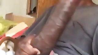 show off huge dick