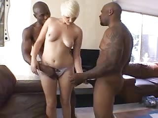 Sexy short tales Sexy short hair blonde 2 bbcs
