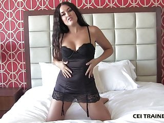 Describe your pussy - Describe how your cum tastes to me cei
