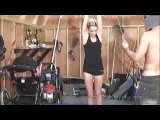 Bondage spanking video - Belle ink bondage spanking