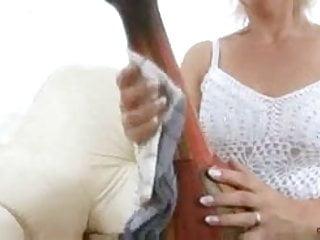 Genies foot fuck - Milf fucked by a genie stud