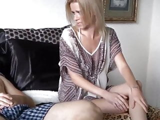 Real amateur mom catches son Stepmom catches son jerking off
