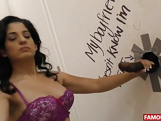 Birthday glory hole - Bbc for nadia ali at the famous hole