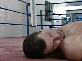 Latex boxes Boxing gym gangbang