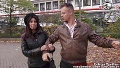 German Turkish girlfriend fucks with her new boyfriend