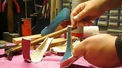 Destroy the wedding heels part2
