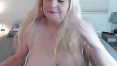 Mature blonde solo