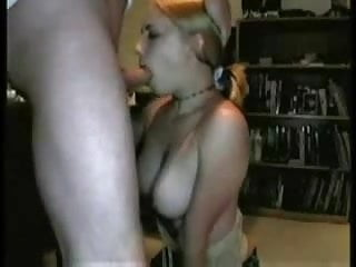 Learning to relax and enjoy sex Cute blonde learns to swallow her best friends load. enjoy