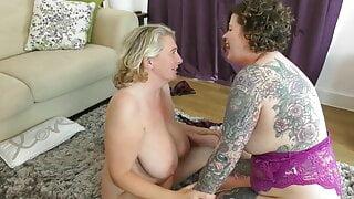 Inara Stark playing with Camilla's pussy