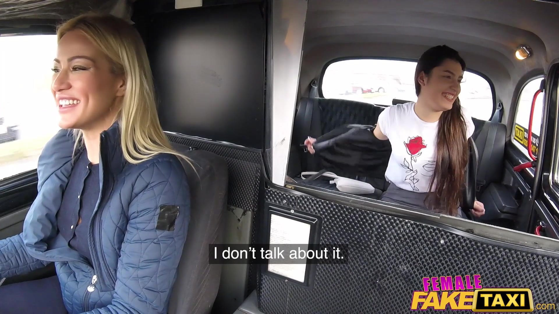 Fake Female Taxi Driver