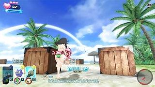 Lets play Peach Beach Splash - 43 - Beach hot shots (deu)