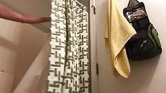 Hidden Cam. Big Sexy ass girl before and after shower