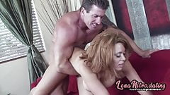 Milf bitch with fat tits rides a hard dick! LenaNitro.dating