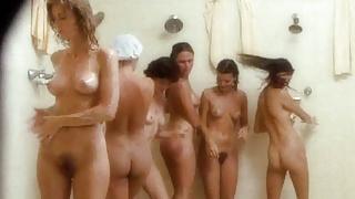 Nude Celebrities in Group Shower Scenes