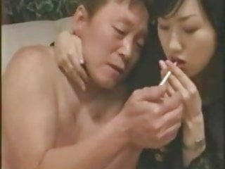 Mom enjoys a cigarrette porn Cigarrettes play on cuckhold husband 1