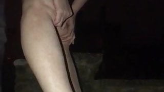 OUTDOOR NIGHT TIME FUCKING AT DUDLY RUINS UK
