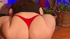 Gummie Cami Red Big Ass Shaking