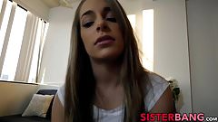 Beautiful teen Kimmy Granger POV screwed by lucky stepbro