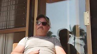 me, no.13: on the balcony in Mazatlan, Mexico