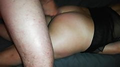 Riding my dildo and cum on my ass!