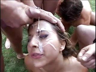 Extreme porn facials - Extreme bukkake 13