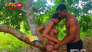 Ebony Outdoors - My First Sex Experience