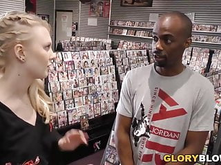 Latrine gloryhole Lily rader sucks and fucks big black dick - gloryhole